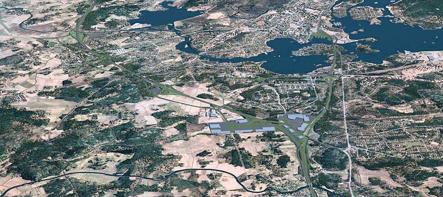 E18 Koskenkylä–Vaalimaa-moottoritien vaikutukset elinkeino- ja yritystoimintaan sekä maankäyttöön