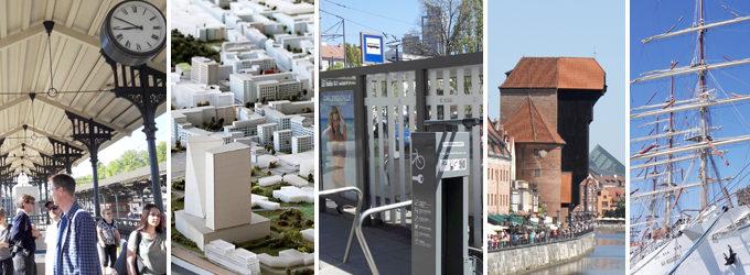 Kaupunkinäkymiä Gdanskissa ja Gdyniassa