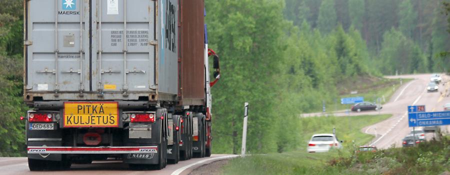 Tieverkollinen selvitys valtatien 26 ja maantien 387 rooleista ja kehittämisestä
