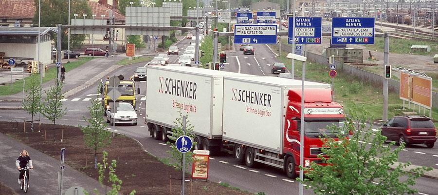 Turun Ratapihankadun raskaan liikenteen rajoittamisen mahdollisuudet, vaihtoehdot ja vaikutukset