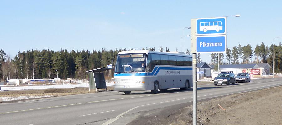 Valtatien 9 bussipysäkkien toimenpidesuunnitelma